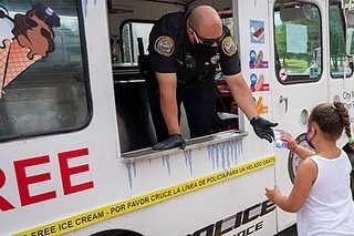 Lawrence PD Ice Cream Truck